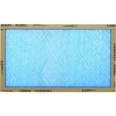 Flanders/Precisionaire 12x20x1 Fiberglass Furnace Filters (Pack of 12) by Flanders/Precisionaire
