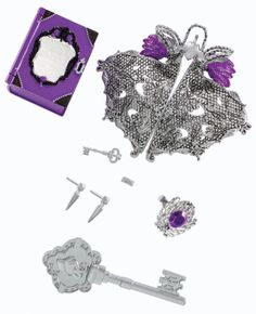 Amazon.com: Ever After High Getting Fairest Raven Queen Destiny Vanity Accessory: Toys & Games