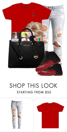 """""flu game"" "" by lovermonster ❤ liked on Polyvore featuring Lee, October's Very Own and MICHAEL Michael Kors"