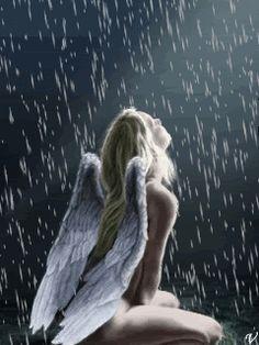 ANGEL WOMAN GIF   Woman-AngelRain