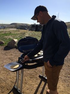 We purchased some pieces to allow us to hook our Coleman LX Roadtrip Grill up to the quick connect hose on our camper. #camper #camping #rving #rvlife #travel #traveldiaries #happycamper #vegancamping #getoutside #outdoorlife #campinglifestyle #campvibes #gorving #roadtrip #colorado #mountains #glamping