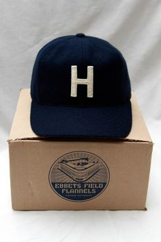 ebbets field flannels for afs, the houston cap