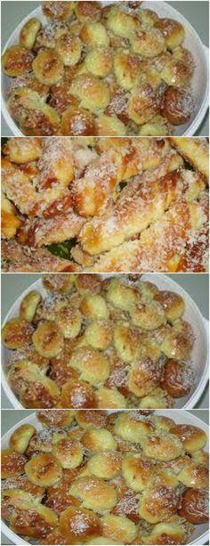 APRENDA A FAZER ROSQUINHA DE COLHER, PASSO A PASSO!! VEJA AQUI>>>Em um recipiente misture bem todos os ingredientes, sem a farinha de trigo Adicione aos poucos a farinha de trigo e mexa bastante #receita#bolo#torta#doce#sobremesa#aniversario#pudim#mousse#pave#Cheesecake#chocolate#confeitaria Sweet Recipes, Cake Recipes, Cooking Time, Cooking Recipes, Making Sweets, Delicious Desserts, Yummy Food, Bread Cake, Portuguese Recipes