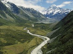 New Zealand, Hooker Valley