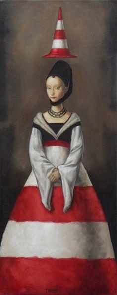 Catherine Chauloux   -   La jeune fille de Bruges