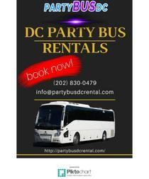 DC PARTY BUS RENTALS | Piktochart Infographic Editor