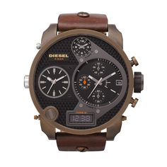 Diesel SBA Badass Oversized Chronograph Watch DZ7246
