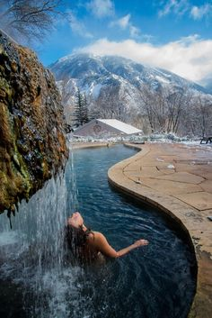 5 Colorado Hot Springs You've Yet to Discover -- Wow. Add these to my list of the endless reasons why Colorado is amazing. I've never been to the Hot Springs, even though there's one local to us, but this would be a great day or weekend trip! Vacation Destinations, Dream Vacations, Vacation Spots, Vacation Places, Oh The Places You'll Go, Places To Travel, Places To Visit, Camping Places, Road Trip To Colorado