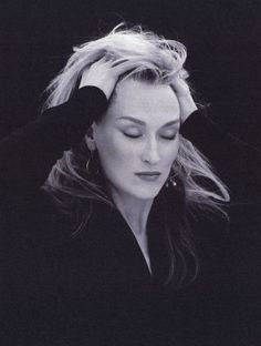 Meryl Streep// so gorgeous, and a great actress. Plus, just a great woman from what I can tell. I'd love to meet her.