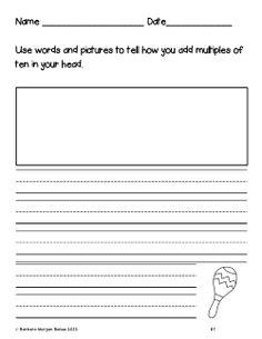 Write about math!