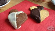 #Cuori di #pastafrolla con #cioccolato #sanvalentino #valentinesday #ricetta #foodporn #gialloblogs #fingerfood
