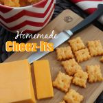 Homemade Cheez-Its - I made these with gf flour and mozzarella, and I couldn't stop eating the dough!