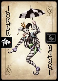 ToT Card Game JESTER by FranciscoETCHART.deviantart.com on @DeviantArt