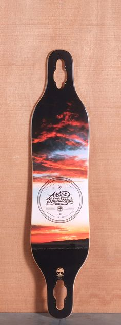 """Arbor 40"""" Axis Koa Longboard Deck ---Only like the one longboard I've ever longed for.--That text!"""