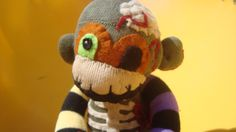 Phil - Zombie Undead Halloween Sock Monkey