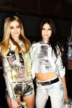fashion-modele:    lovesomesugar:  Blumarine AW12 Fashion Show Milan Backstage