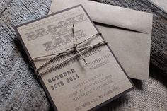 Rustic Country Western Mason Jar Wedding Invitation with Backer and Twine by CCPrintsbyTabitha on Etsy https://www.etsy.com/listing/214714259/rustic-country-western-mason-jar-wedding