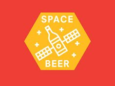 Icon for a Space Beer Label