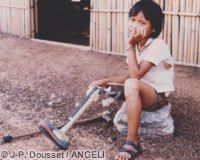 Over 90% of minefield victims are civilians. Click to support the Mine Ban Treaty!
