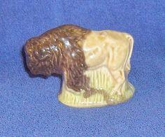 Wade  Whoppa Bison Porcelain Animal #Whoppa