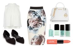 """""""Untitled #102"""" by mikarot ❤ liked on Polyvore featuring MICHAEL Michael Kors and Nly Shoes"""