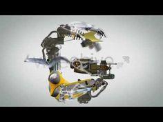 Motion graphics Transformers Alphabet