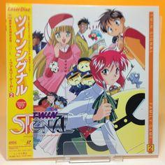 Twin Signal: vol.2 [SRLD-1849] LD LaserDisc Laser Disc NTSC OBI Japan AA555