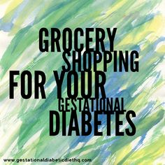 When planning for your gestational diabetes diet, knowing what to buy and how to shop for what you need can get complicated. What you eat weighs heavily on your heath when you have gestational diabetes, and keeping yourself and your unborn baby are of utm Gestational Diabetes Meal Plan, Diabetic Meal Plan, Diabetic Recipes, Pre Diabetic, Smoking Causes, Diabetes Food, Cure Diabetes Naturally