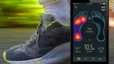 Sensoria Fitness Socks have sensors to track activity and fitness goals. The sensors gather data on heart rate, force and pressure.