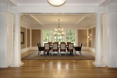 SHINGLE STYLE HOUSE - Dining Room - GRADE New York