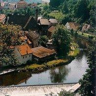 View from Rožmberk Castle, Rožmberk nad Vltavou, Czech Republic
