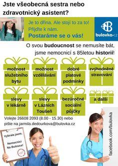 #Nemocnice Na #Bulovce naděluje ještě před #Vánocemi! Přemýšlíte o svém #uplatnění? Prohlédněte si nabízené #balíčky. Najdete mezi nimi nějaký oblíbený #dárek?