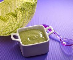 Chou vert, pomme de terre, jambon pour bébé au Nutribaby