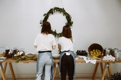 Table display & wreathe