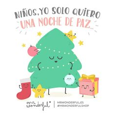 Mr Wonderful Mr Wonderful Navidad, Inspirational Phrases, Christmas Clipart, Cute Cards, Funny Cute, Best Quotes, Funny Jokes, Clip Art, Positivity
