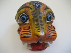 Jaguar mask, State of Quintana Roo, MX