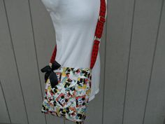 Mickey Mouse Crossbody Novelty Bag 3 by OMGDesigns on Etsy
