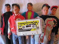 New Kids On The Block dolls! I still have mine too.