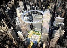 Grand Central Terminal Proposal by SOM - Architecture Linked - Architect & Architectural Social Network