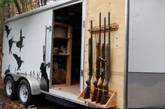 Pictures of the ultimate goose hunting trailer I purchased from you guys last winter   trailersuperstore.com