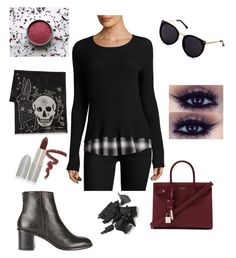 """""""Fall day"""" by marleigh-erin on Polyvore featuring Bailey 44, Yves Saint Laurent, Alexander McQueen, rag & bone and TheBalm"""