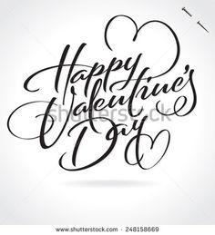 valentine letter vector