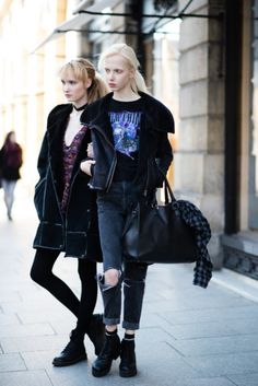 Street style from Paris haute couture spring '16 - Vogue Australia