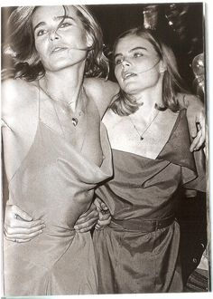 Mariel and Margaux Hemingway