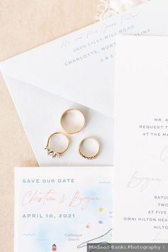 Pastel, beach wedding invitations - white wedding invitations with blue and beach motif - See more from this wedding on WeddingWire! Beach Wedding Invitations, Save The Date Invitations, Wedding Programs, Wedding Stationery, Hilton Head Island, Future Wife, Wedding Place Cards, Real Weddings, Wedding Photos