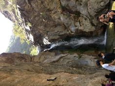 Waterfall, Easton Canyon Trail, California