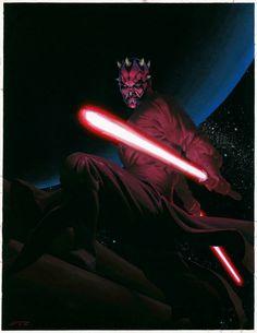Star Wars - Darth Maul by Esad Ribic *