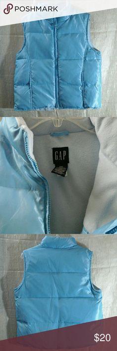 Gap Vest xxl ( fit me normally. I'm medium ) Lt blue, super warm vest from Gap gap Jackets & Coats