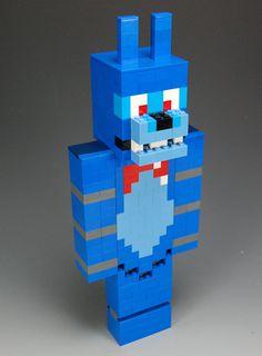 Lego Custom Bonnie Five Nights at Freddy's by BrickBum on Etsy