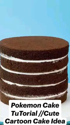 Delicious Desserts, Yummy Food, Dessert Cake Recipes, Minecraft Cake, Cake Mix Cookies, Food Tasting, Cake Decorating Techniques, Cake Tutorial, Cake Designs
